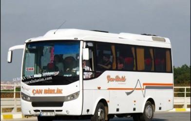 ilçe minibüslerinin şehir içine girme Yasağı Çanakkale'de yine başlıyor
