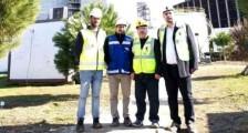 Çanakkale Çevre ve Şehircilik İl Müdürü Ömer BOLAT, 18 Mart Çan Termik Santralını ziyarette bulundu.