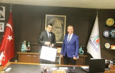 As Başkan Barış Zoroğlu'dan Bülent Öz'e Ziyaret