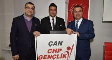 Çan CHP Gençlik Kolları Başkan Utku Yaz Oldu.