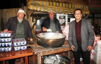 Kış pilavları etkinliğine Helvacı köyünde devam edildi.