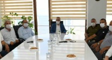 Çan Esnaf ve Sanatkarlar Odası Başkan Emin Görgün İlçemiz adına Çanakkale Milletvekilimiz Bülent Turan'a istek ve taleplerini ileti.