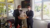 Çanakkale Valisi İlhami AKTAŞ Çan Ziraat odasını ziyaret etti.