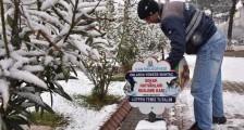 Çan Belediyesi Karda Can Dostlarını Unutmadı