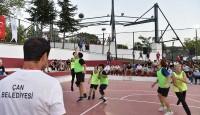 Başkan Öz hava atışını yaptı, Streetball Turnuvası başladı