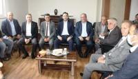 AK Parti Çanakkale İl Başkanı Naim Makas Çan'da bir dizi ziyarette bulundu.